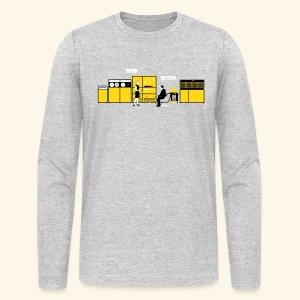 Retrotech - Men's Long Sleeve T-Shirt by Next Level