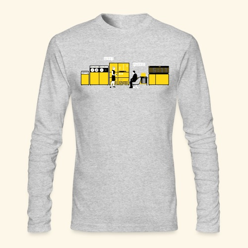 Retrotech - Men's Long Sleeve T-Shirt by Next Level