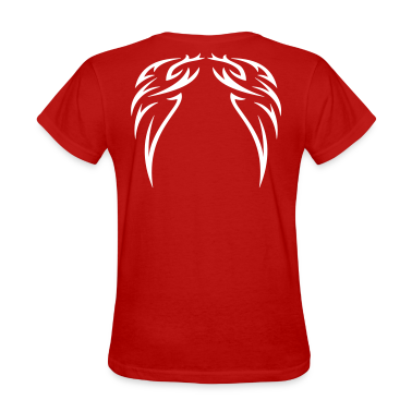 Red tattoo wings Women's T-Shirts