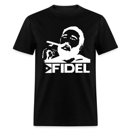 Viva Fidel! POLITICAL STATEMENTS Tee - Men's T-Shirt