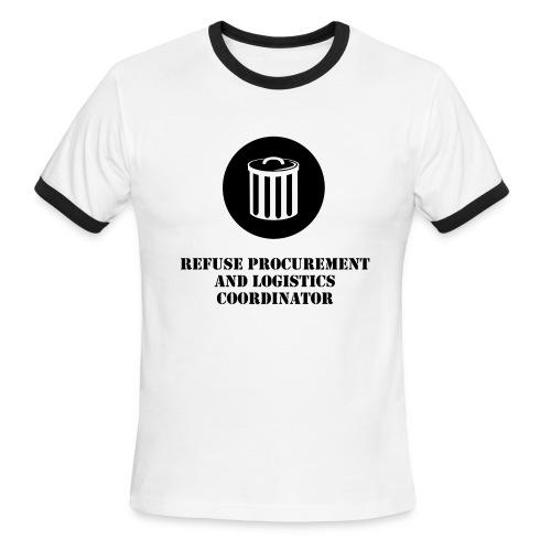 PC Garbage Man Ringer Tee - Men's Ringer T-Shirt