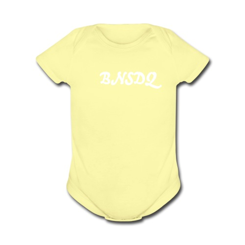 Baby Night Stalkers Don't Quit - Organic Short Sleeve Baby Bodysuit