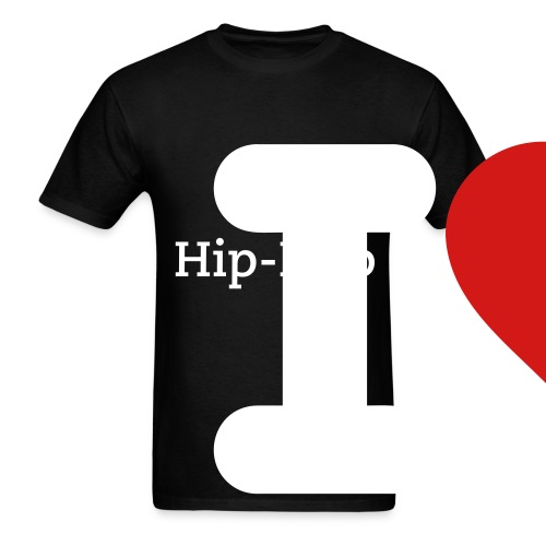 i love hip-hop shirt - Men's T-Shirt