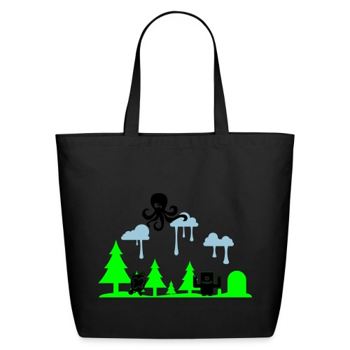 Bleeding Rain Bag - Eco-Friendly Cotton Tote
