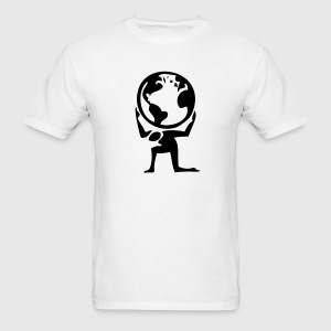 Atlas Greek Earth Myth 1c - Men's T-Shirt