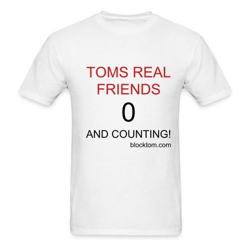 Toms Real Friends - Men's T-Shirt