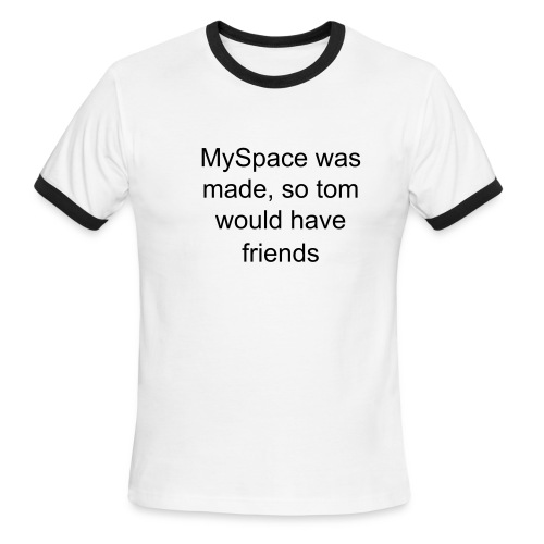 MySpace - Men's Ringer T-Shirt