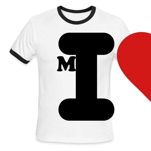 I heart Me Ringer - Men's Ringer T-Shirt