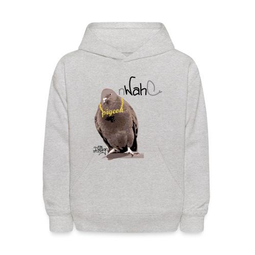 nWahC - Pigeon - Kids' Hoodie