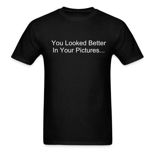 Better in Pictures? - Men's T-Shirt