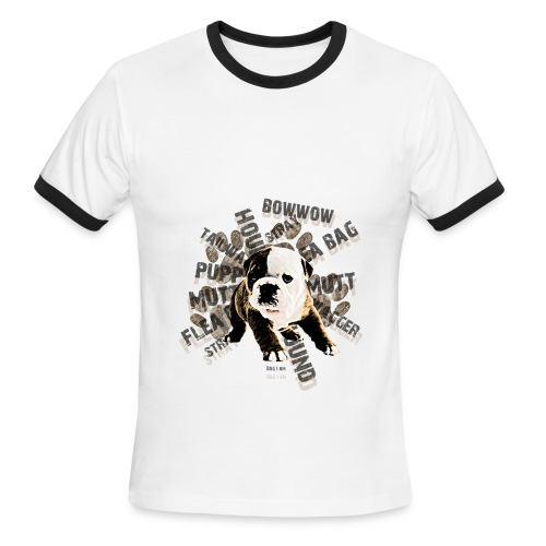Dog And Bull Tee - Men's Ringer T-Shirt