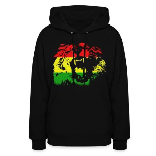 Rasta Lion Hoodie - Women's Hoodie