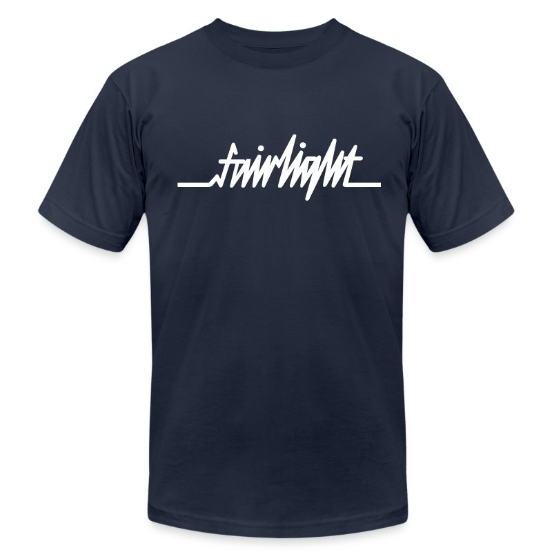 new_fairlight_logo_2 - Men's T-Shirt by American Apparel