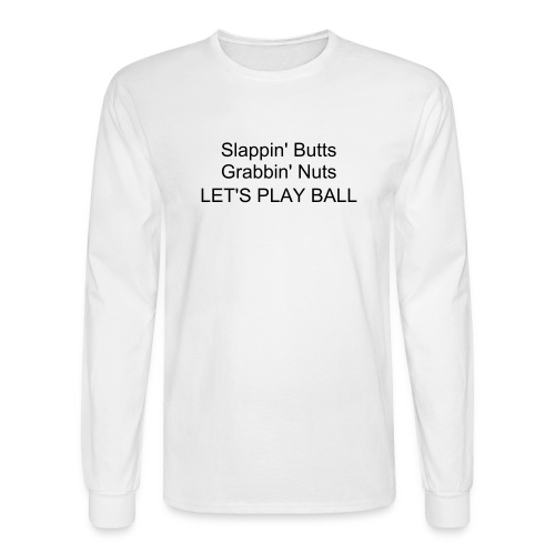 Let's Play Ball - Men's Long Sleeve T-Shirt