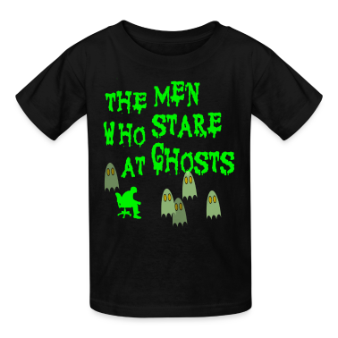 Black The Men Who Stare At Ghosts Goats Kids' Shirts