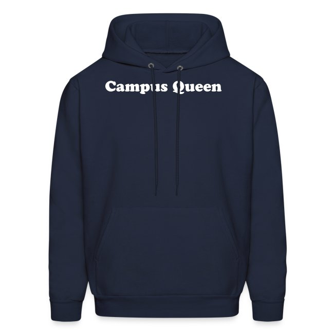 Navy Hoodie/White Writing