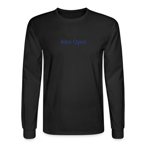 Alex Oyen Black Longsleeve - Men's Long Sleeve T-Shirt