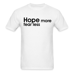 Hope- click to see back - Men's T-Shirt