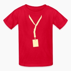 Red Lanyard Kids' Shirts