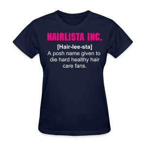 Hair-lee-sta Definition Tee - Navy - Women's T-Shirt