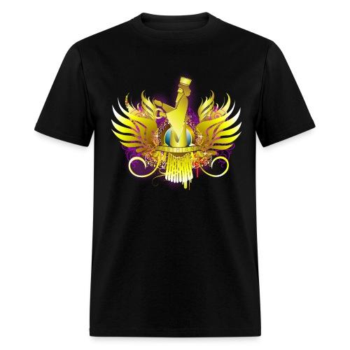 Parthiana Farvahar Modern BLACK - Men's T-Shirt