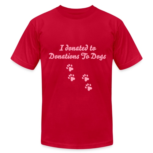 Donations To Dogs Men's Tee - Men's  Jersey T-Shirt