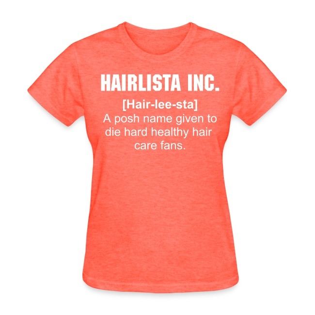 Hair-lee-sta Definition Tee - Black