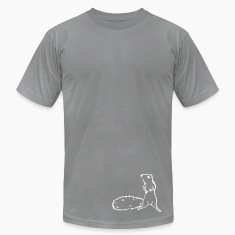 Slate squirrel T-Shirts