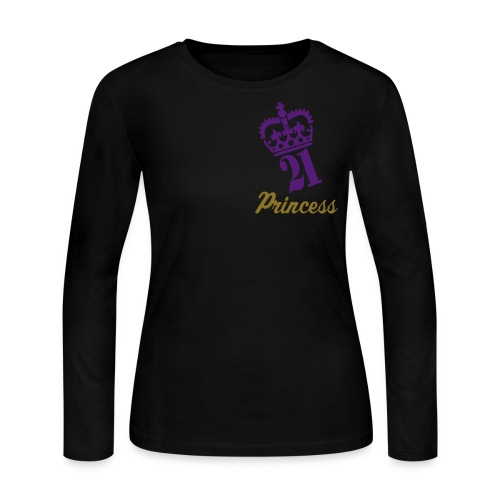 Princess 2 - Women's Long Sleeve Jersey T-Shirt
