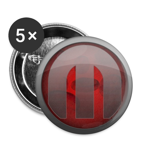 Monochrome - Large Buttons - Buttons large 2.2'' (5-pack)