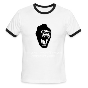 Planet Of The Apes Quote - Men's Ringer T-Shirt