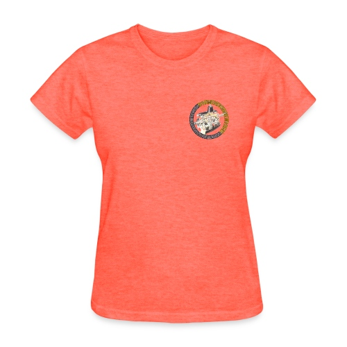 Hooniverse Tee with Round Logo... for the ladies... - Women's T-Shirt