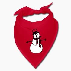Red snowman Other