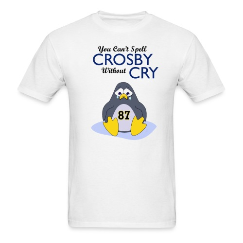 You Can't Spell Crosby Without Cry - Men's T-Shirt
