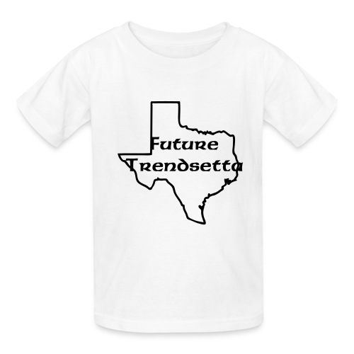 Future Trendsetta (white) - Kids' T-Shirt