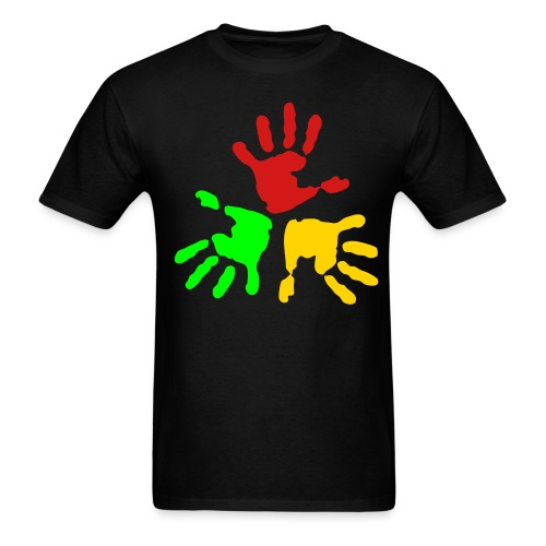 Hands Together - Men's T-Shirt