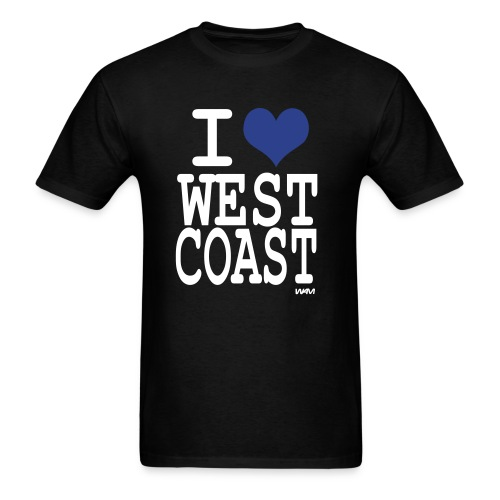 West Coast Love - Men's T-Shirt