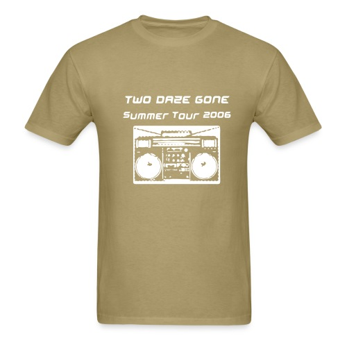 Two Daze Tour 2006 - Men's T-Shirt