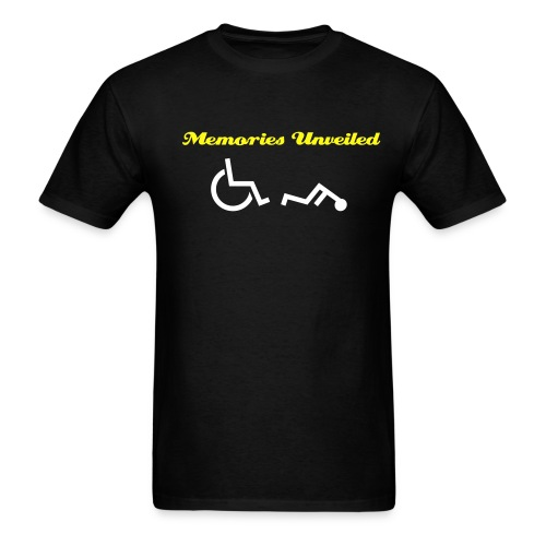 Memories Unveiled Weelchair Tee - Men's T-Shirt