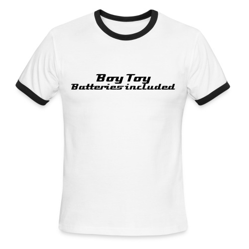Boy toy Batteries Included  - Men's Ringer T-Shirt