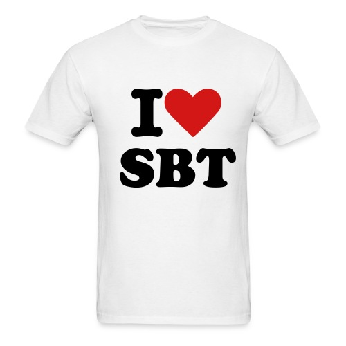 Men's T-Shirt - I heart SBT Tee