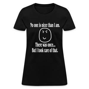 HELLRAISER - Nicer than I am Women's T-Shirt - Women's T-Shirt