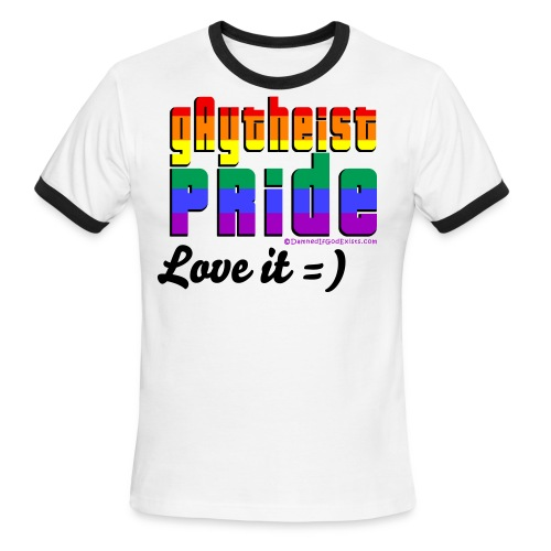 Gaythiest Pride - Men's Ringer T-Shirt