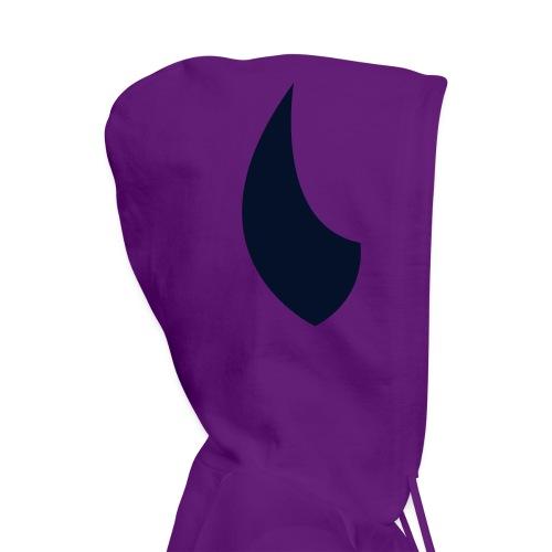 Black Shimmer Devil Hoodie - Women's Hoodie