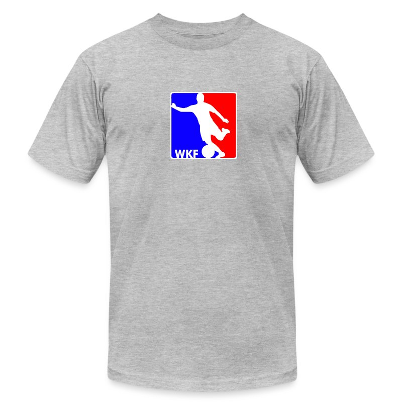 WORLD KICKALL LEAGUE - Men's T-Shirt by American Apparel