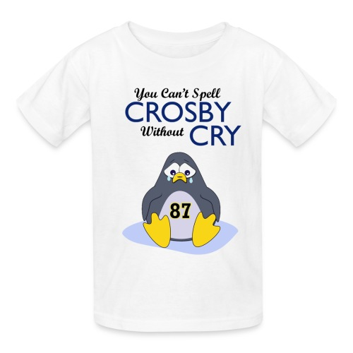 You Can't Spell Crosby Without Cry - Kids' T-Shirt