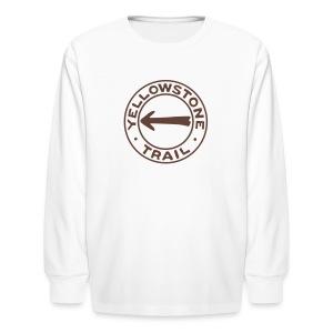 Yellowstone Trail - Kids' Long Sleeve T-Shirt