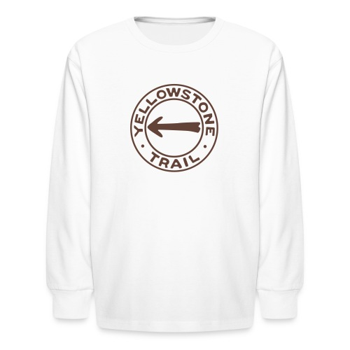 Yellowstone Trail - Kids' Long Sleeve T-Shirt