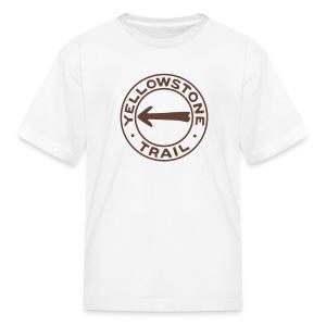 Yellowstone Trail - Kids' T-Shirt