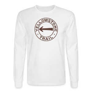Yellowstone Trail - Men's Long Sleeve T-Shirt